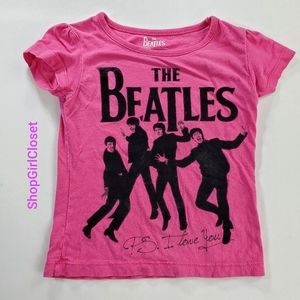 💥Just In💥 The Beatles Tee Girls 2T